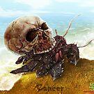 The Zombie Zodiac - Cancer by thedarkcloak