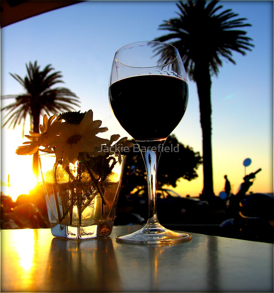 Sundowner in Camps Bay by Jackie Barefield