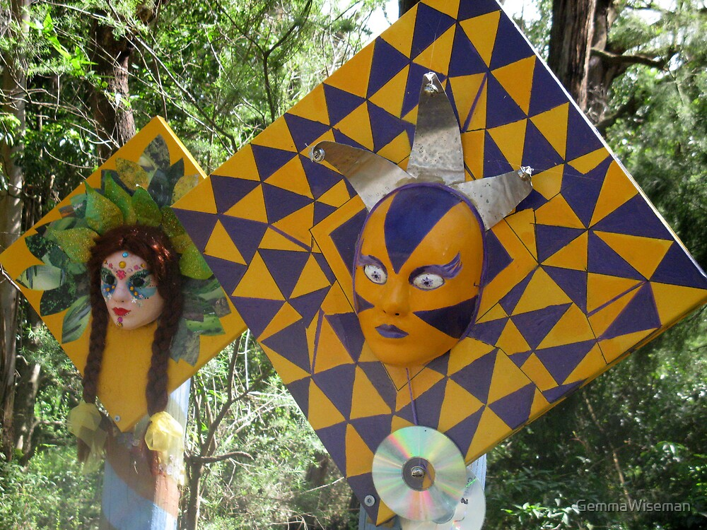 Mellow Yellow Scarecrows at Red Hill by GemmaWiseman