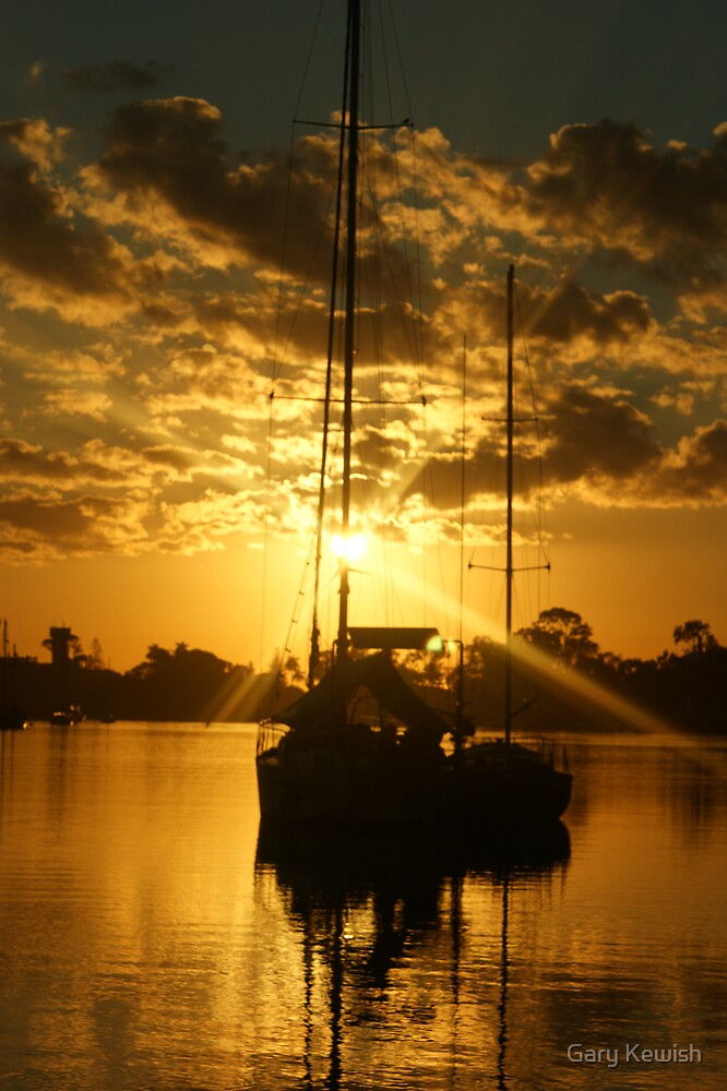 Tranquil Sunrise by Gary Kewish