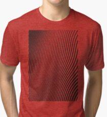 WAVE (BLACK) Camiseta de tejido mixto
