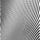 «WAVE (BLACK)» de geometricarte