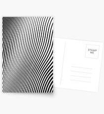 WAVE (BLACK) Postales