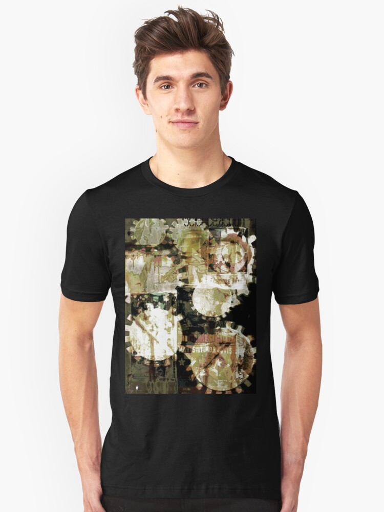 Cogs, Bills and A Wall Unisex T-Shirt Front