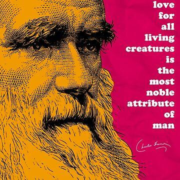 Charles Darwin Quote  by pahleeloola