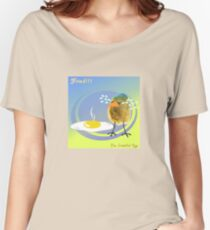 Two Scrambled Eggs - Fried!!! Women's Relaxed Fit T-Shirt