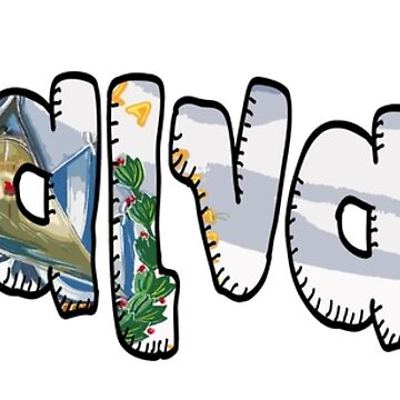 El Salvador Font with Salvadorian Flag by Havocgirl