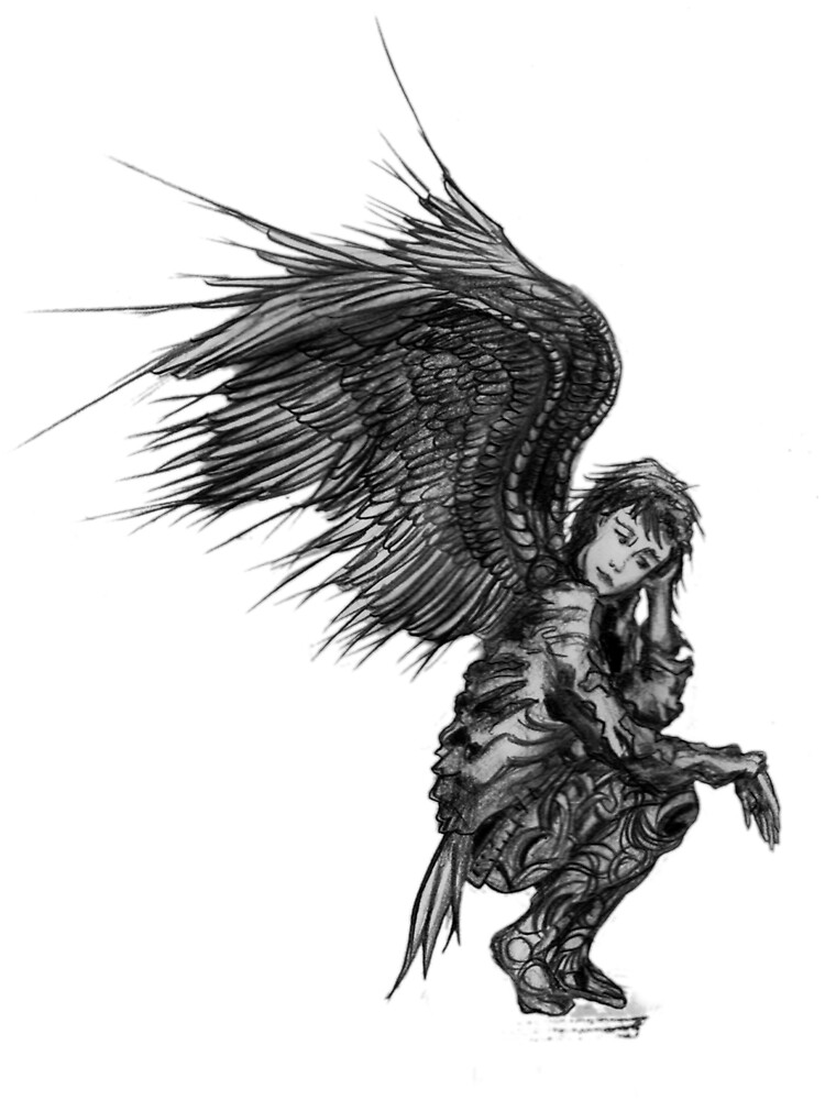 Angel Warrior by robertemerald