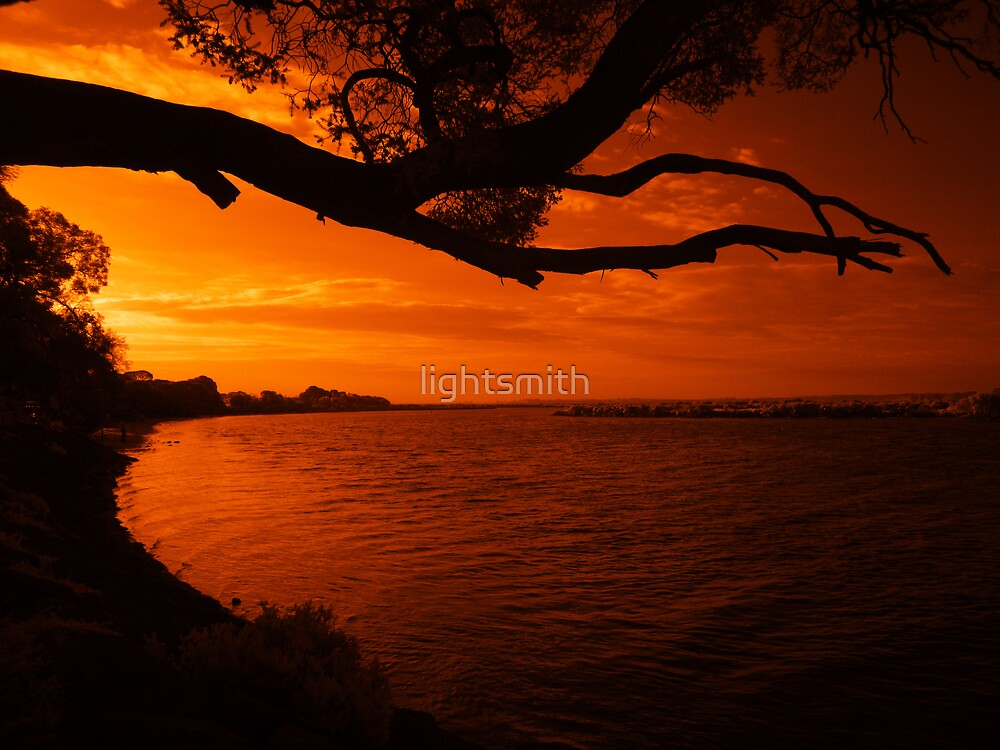 The Joy of an Infrared Sun by lightsmith