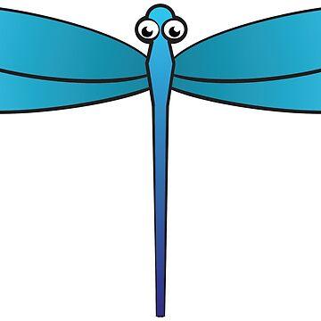 dragon-fly by AK1Shirts