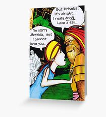 Love On The Planet Of The Apes Greeting Card