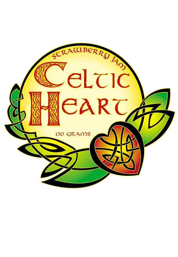 Celtic Heart Strawberry Jam by robertemerald