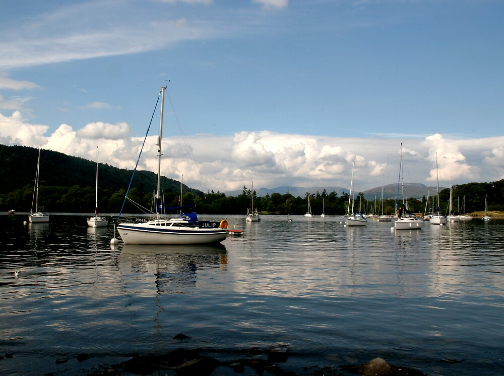 View From Hawkeshead Ferry Windermere by stebird