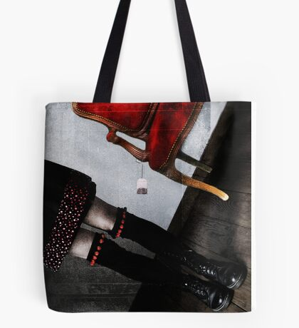 The other side of the apron Tote Bag