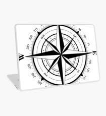 True North Compass Nautical Love Laptop Skin