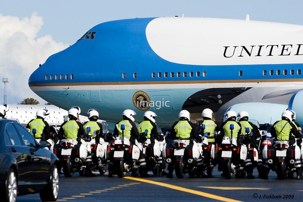 Obama visit Copenhagen 2009 by imagic