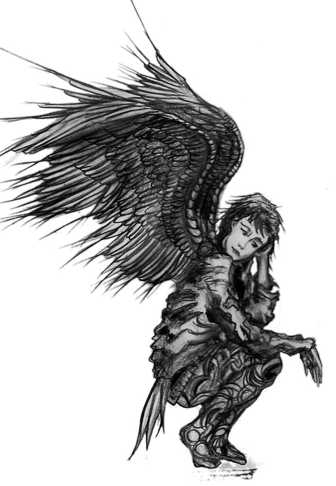 Warrior Angel by robertemerald