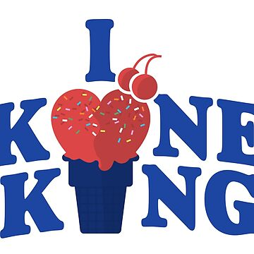 I Heart Kone King (Cake Cone Edition) by niemozliwe