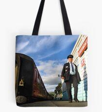 Grosmont station Tote Bag