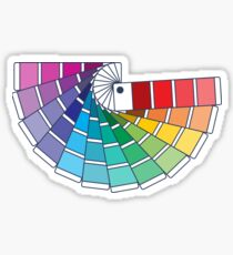 Pantone Color chip swatches books Sticker