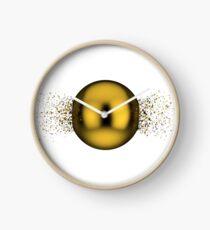 Exploded sphere Clock