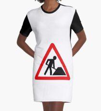 Building site Graphic T-Shirt Dress