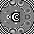 Monochrome Mandelbrot by Rupert Russell
