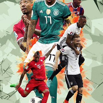 Jerome Boateng poster by NIKOisCREATING