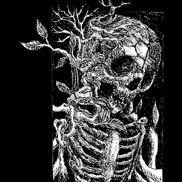 Death Metal Tree, Satanic Shirt, Satan Occult, Death Metal, Metal Head, Rock Band, Hard Rock, Heavy Metal by kraftd