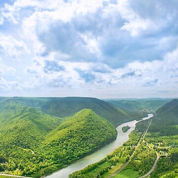 Hyner View PA Overlook by rollosphotos