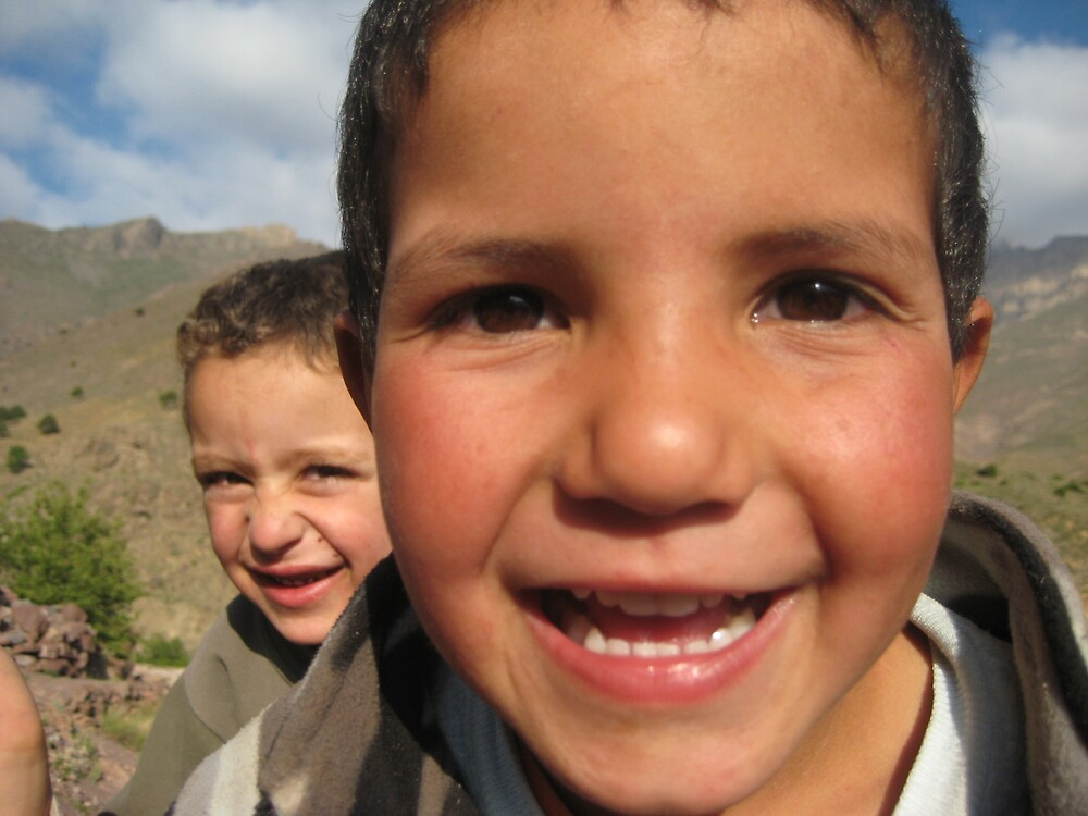 Moroccan Children by NicolaH