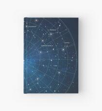 Constellation Star Map Hardcover Journal