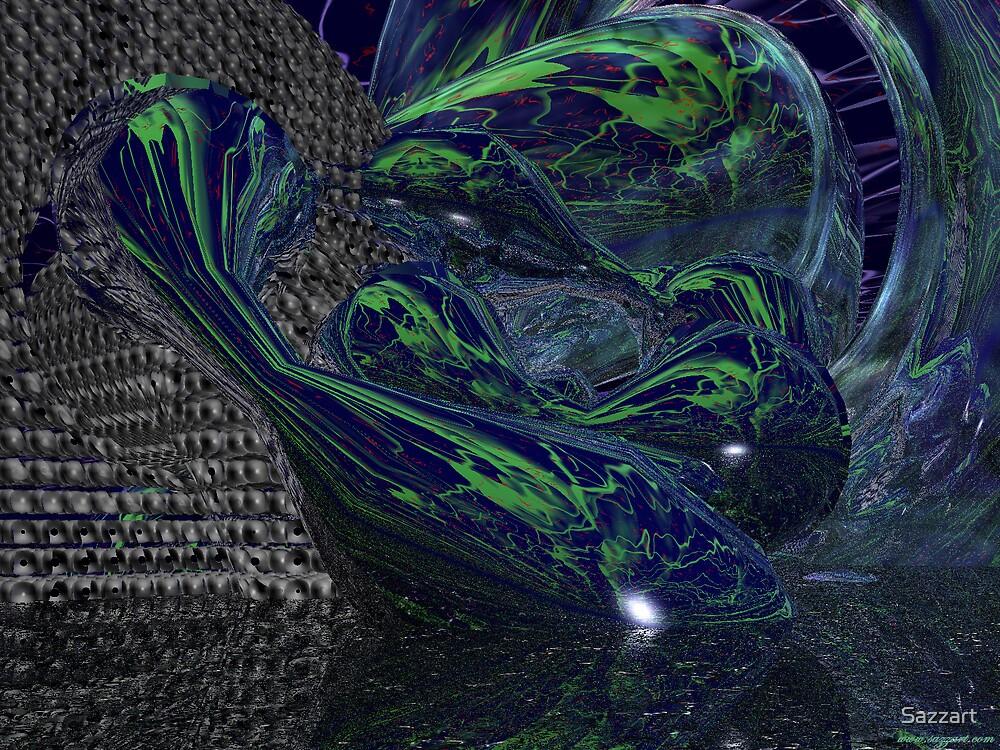 Abstract - Form Study XVIII by Sazzart