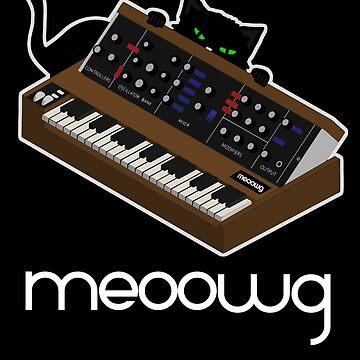 synthesizer cat meow by mewzeek-T