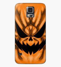 Spooky Faces - Jackolantern Case/Skin for Samsung Galaxy