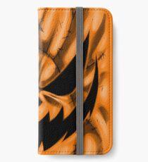 Spooky Faces - Jackolantern iPhone Wallet/Case/Skin