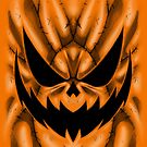 Spooky Faces - Jackolantern by Penelope Barbalios