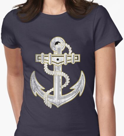 Vintage GOLD Anchor  T-Shirt
