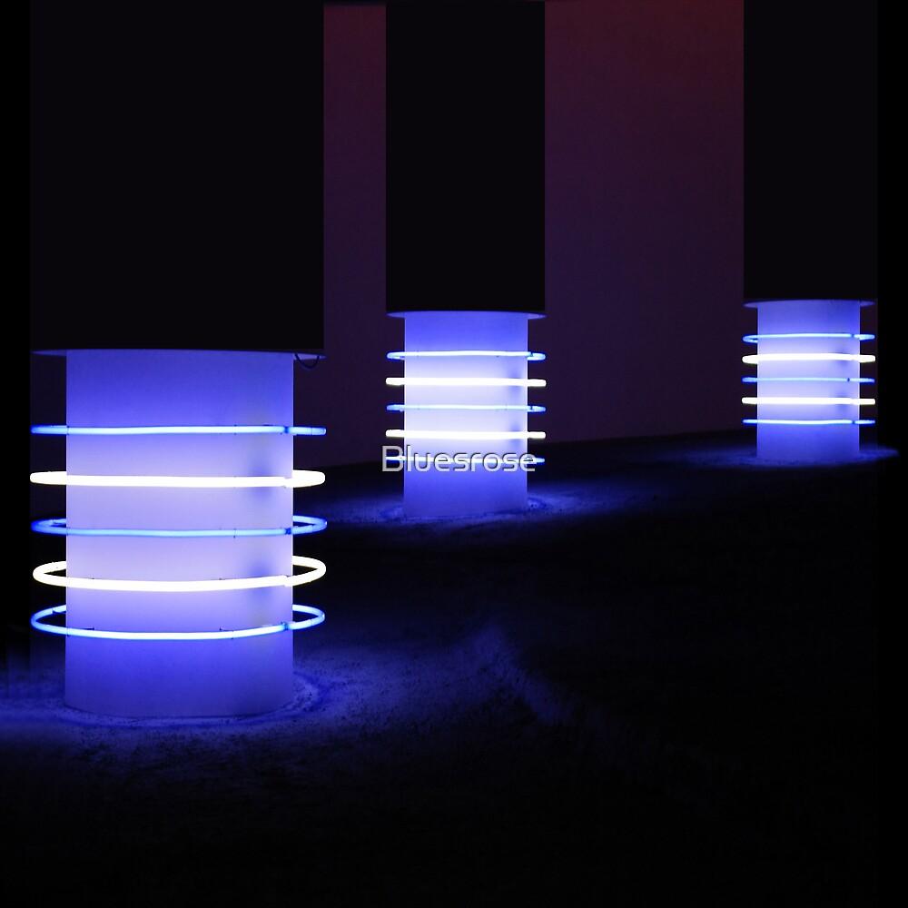 Blue light. II by Bluesrose