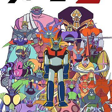 Mazinger Z by AnimeDesignTees
