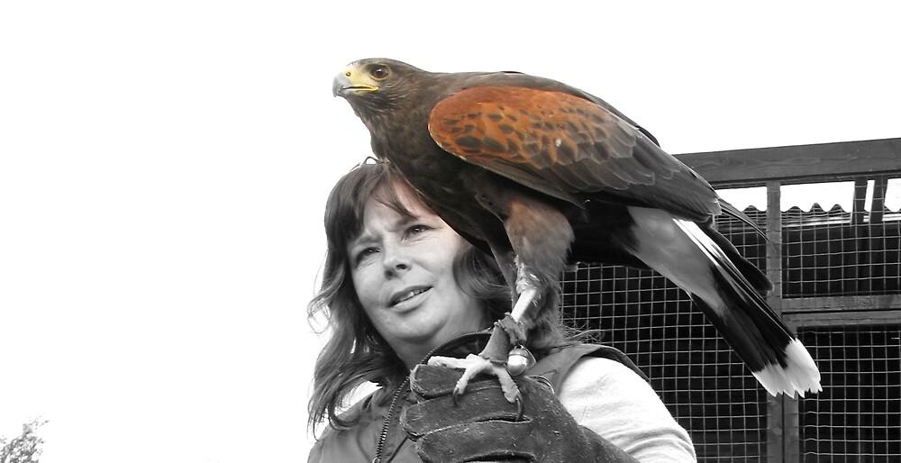 My bird, with her bird! by Tuddy66