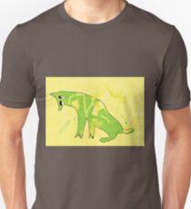 dog sitting Unisex T-Shirt