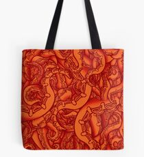Pumpkin Patch Tentacles Tote Bag