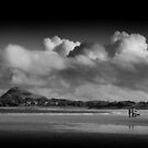 North Berwick Sands by Mark Dickson