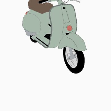 My 1964 Vespa Allstate Cruisaire by andriantosuwito