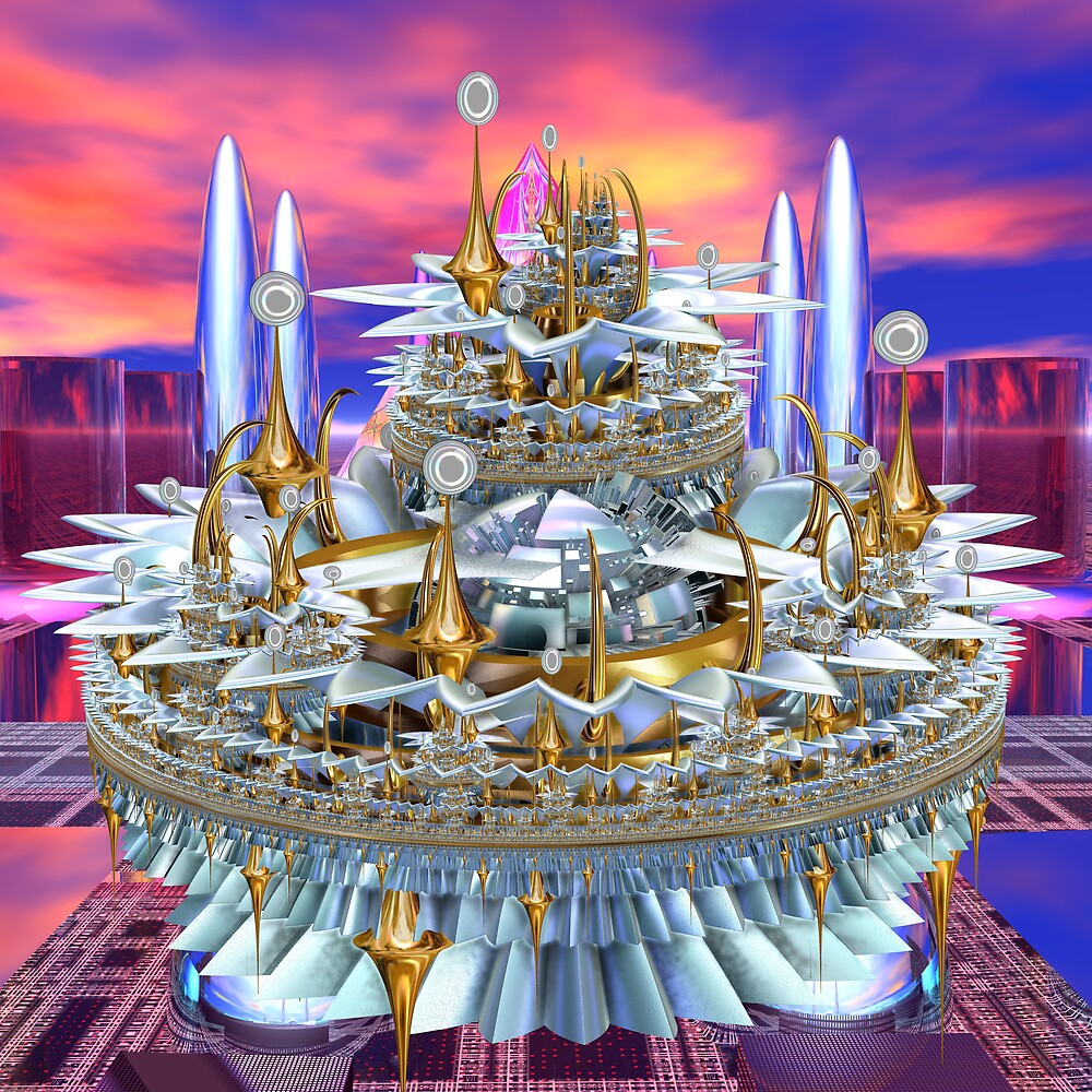 The Lotus Castle by joeyg007