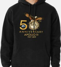 50th Anniversary Apollo 11 moon landing 1969-2019 Pullover Hoodie
