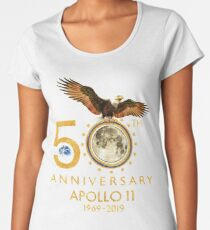 50th Anniversary Apollo 11 moon landing 1969-2019 Women's Premium T-Shirt
