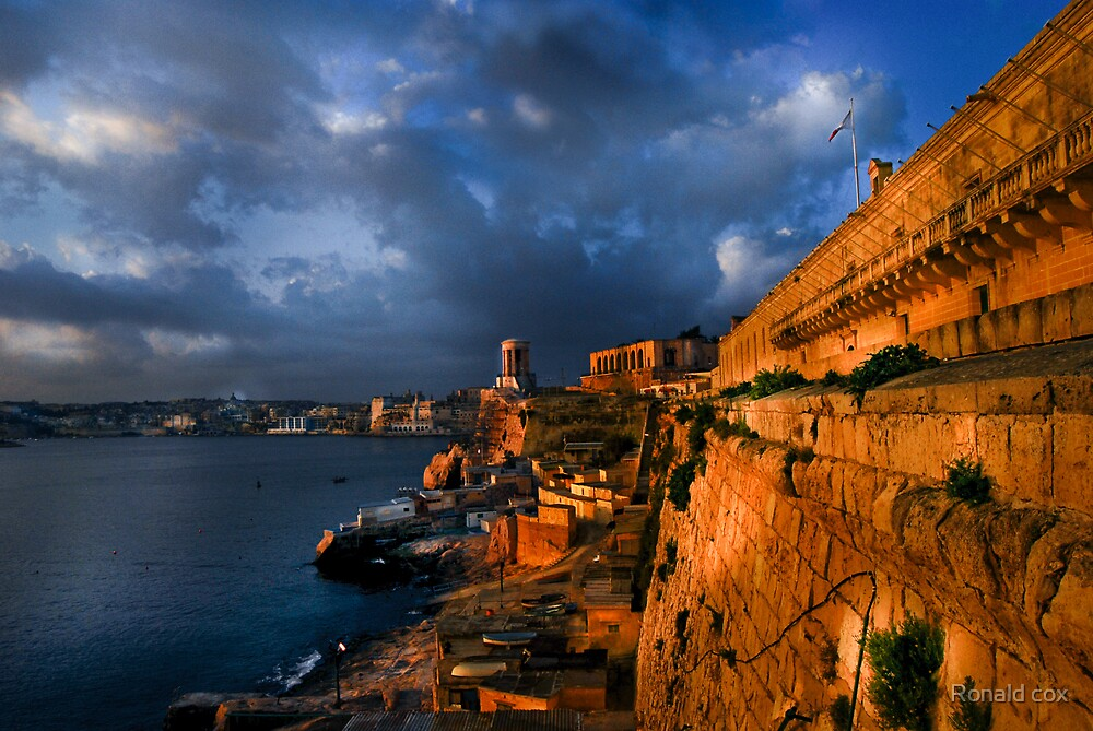 Grand harbour Malta by Ronald cox