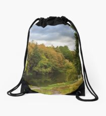 Lake Phoenix Park Drawstring Bag